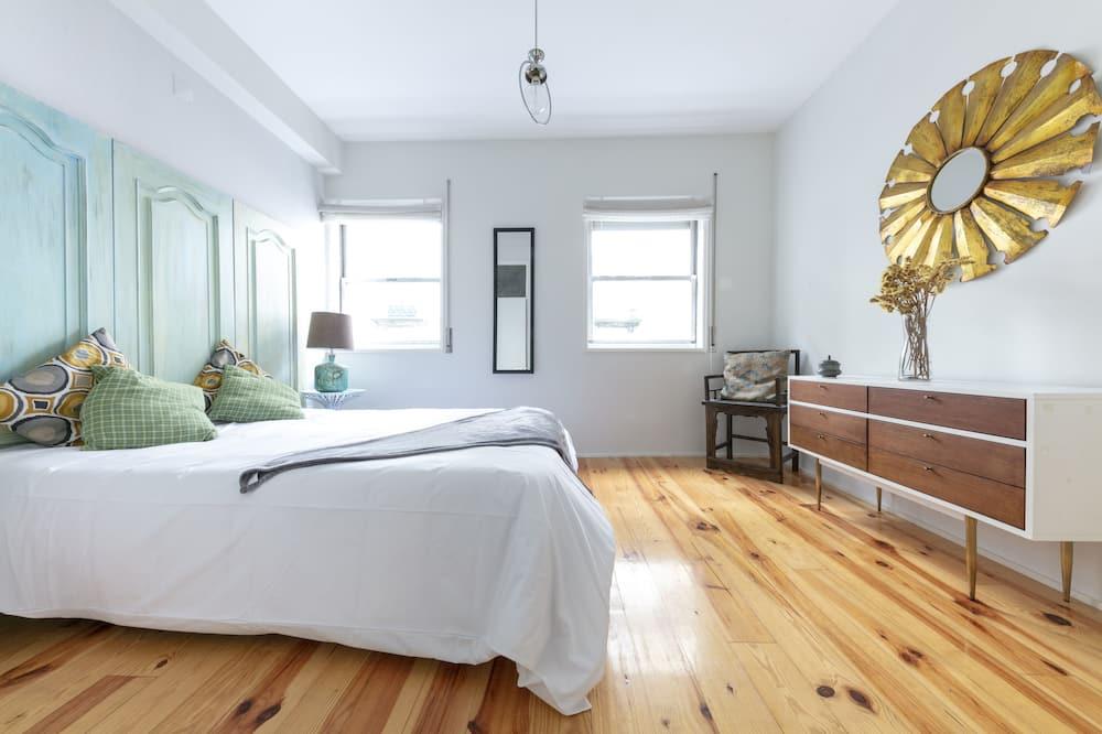 Apartament, 1 sypialnia, widok na rzekę - Widok zpokoju