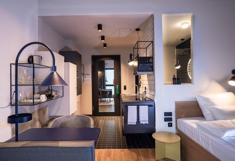 比勒費爾德火車總站斯泰厄里飯店, 比勒菲爾德, 開放式客房, 客房