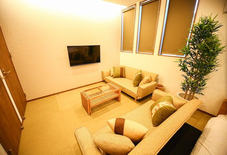 Prime Room Beppu S1, Beppu, Apartmán, Obývací prostor