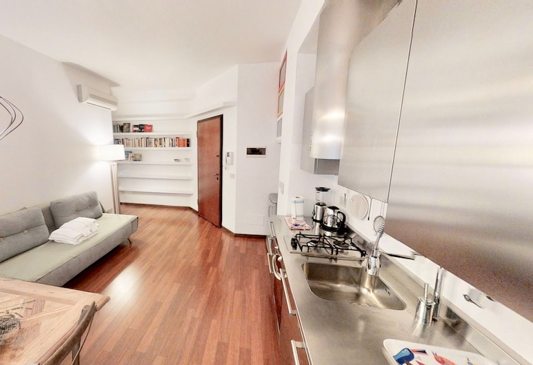Triestevillas - Zona Pedonale, Borgo Teresiano, טריאסטה, דירה, חדר שינה אחד, סלון