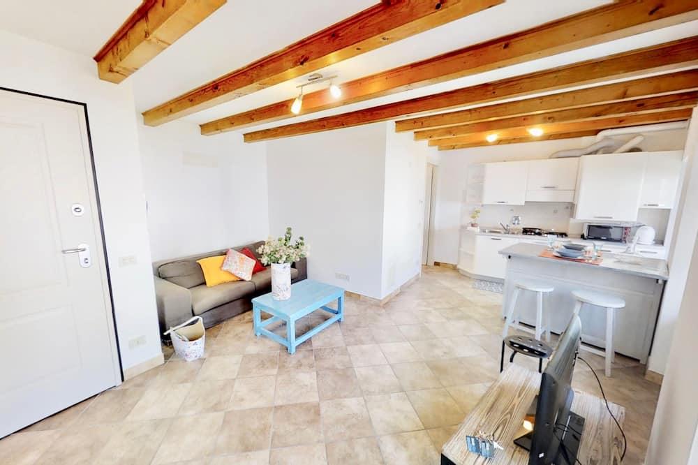 Dúplex (1 Bedroom) - Sala de estar