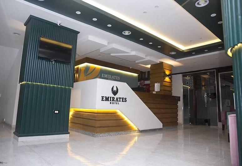 阿聯酋酒店, 杜姆亞特, 櫃台