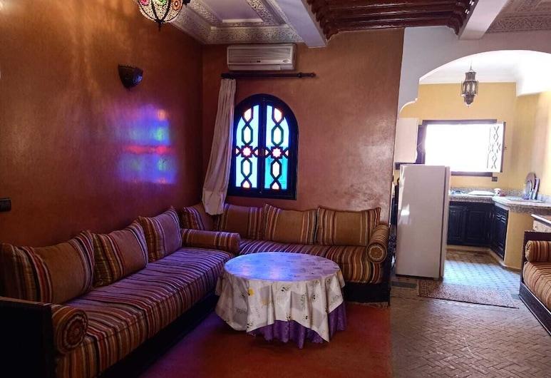 優斯拉別墅酒店, 馬拉喀什, 公寓, 2 間臥室, 客廳