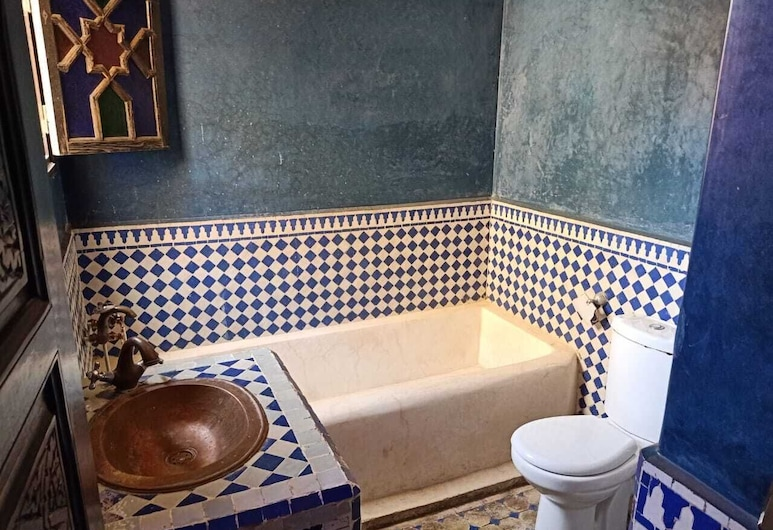Villa yousra, Marrakech, Apartamento, 2 Quartos, Banheira de Imersão Total