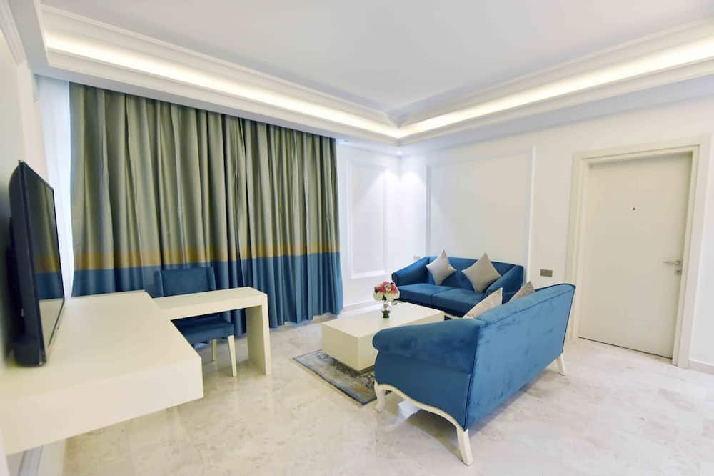 Suite, 1 Bedroom, Non Smoking (Aircondition) - Living Room