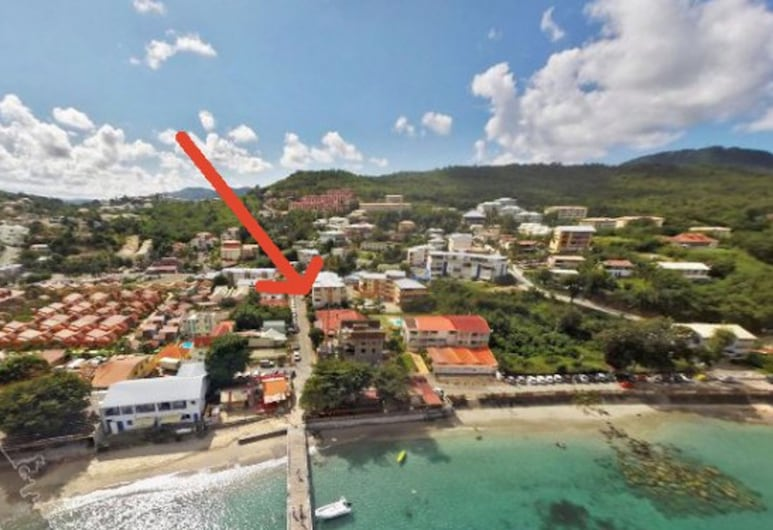 Studio in Les Trois-îlets, With Wonderful City View, Balcony and Wifi - 80 m From the Beach, Trois-Ilets, Aerial View