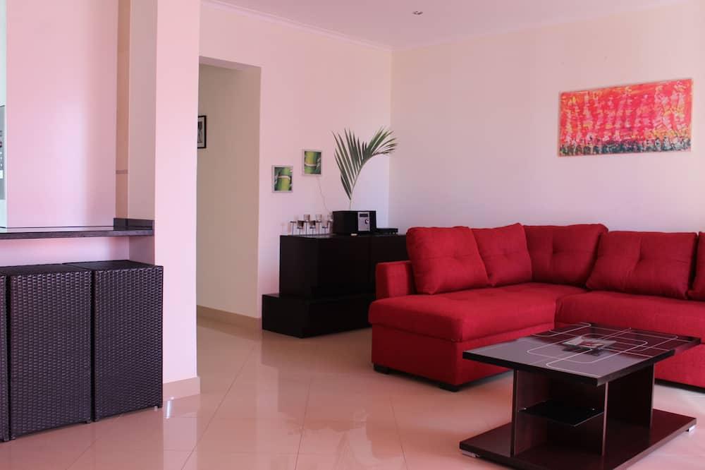Apartment, 3Schlafzimmer, Balkon, Meerblick - Wohnzimmer
