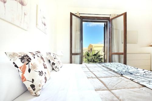 マルサラにある一軒家、ベッドルーム