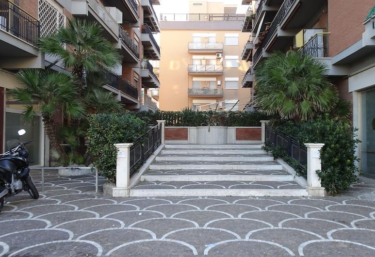 RomeCookSea, Rom, Hoteleingang