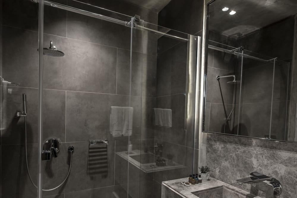 Suite, Eckzimmer - Badezimmer