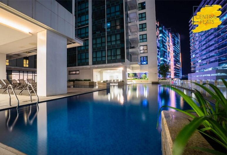 One Uptown Residences by Central Flats, Taguig, Útilaug