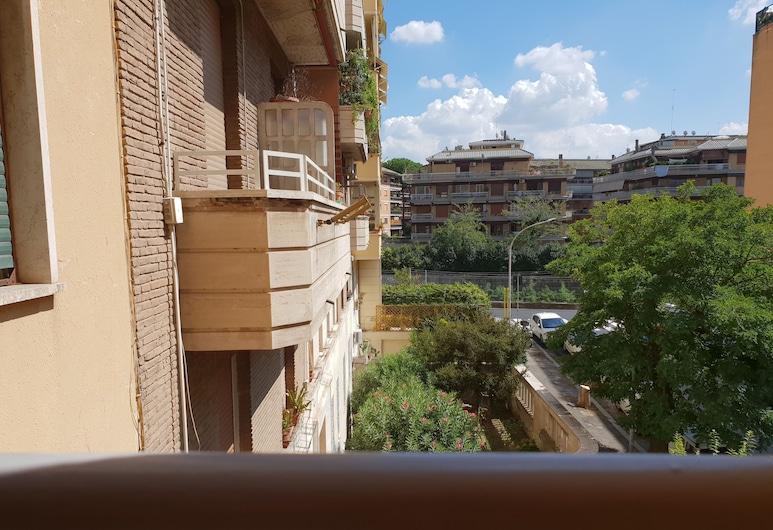 帕斯特爾斯客房酒店, 羅馬, 高級雙人房, 露台, 花園景, 酒店正面