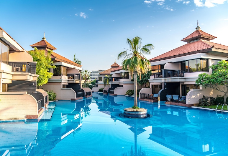 Lux BnB Royal Amwaj Residences, Dubajus, Baseinas