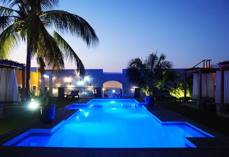 Feitoria Boutique Hotel, Mozambique Island, Utendørsbasseng