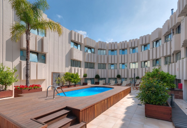 Port Azafata Valencia Hotel, Manises, Terrazza/Patio