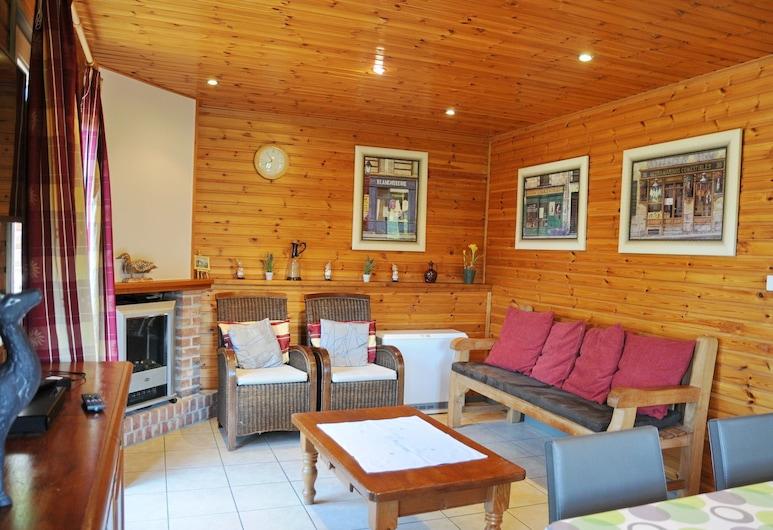Cozy Holiday Home in La Roche-en-ardenne With Sauna, La Roche-en-Ardenne, Hus, Stue