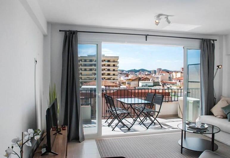 Central Apartment with a view Ref 92, Fuengirola, Apartment, 1 Schlafzimmer, Wohnbereich