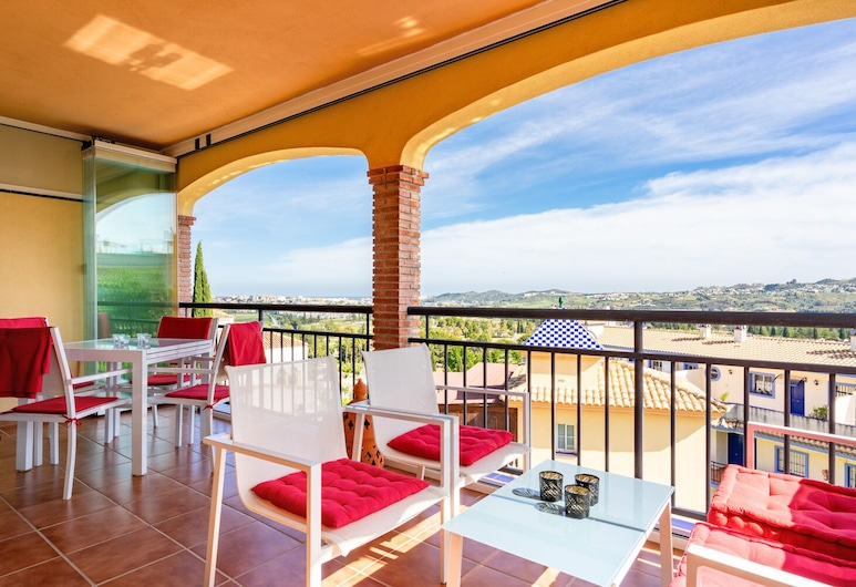 Wonderful Apartment in Mijas Golf Ref 104, มิจาส, อพาร์ทเมนท์, 2 ห้องนอน, ลานระเบียง/นอกชาน