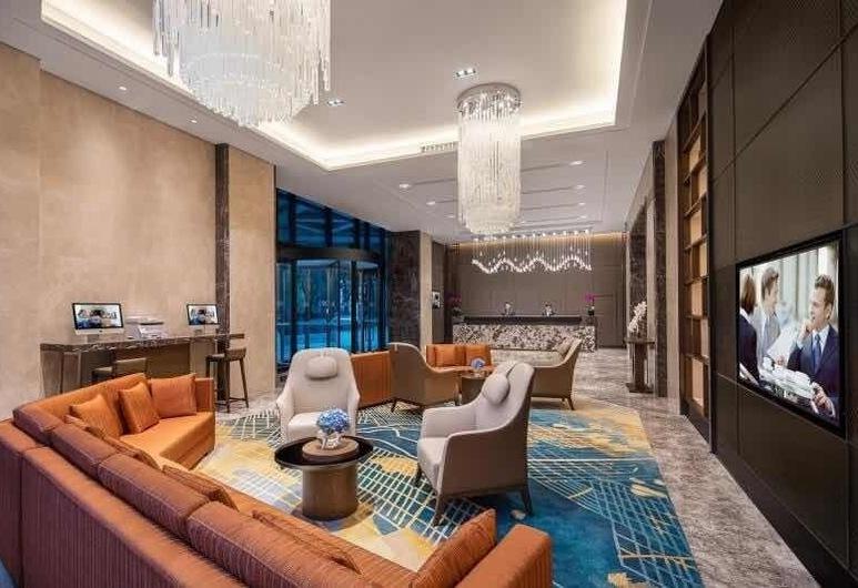 Somerset Zhuankou Wuhan, Wuhan, Sittområde i lobbyn