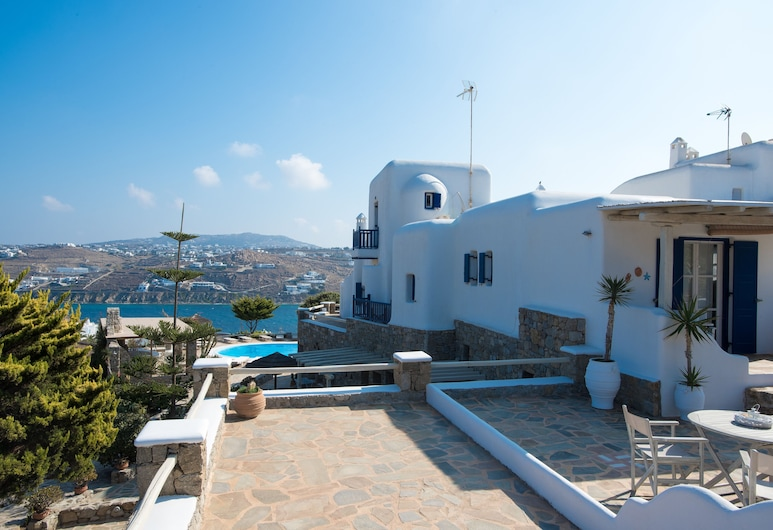 Villa Anemoessa Olive Green with Pool, Mikonos, Basen odkryty