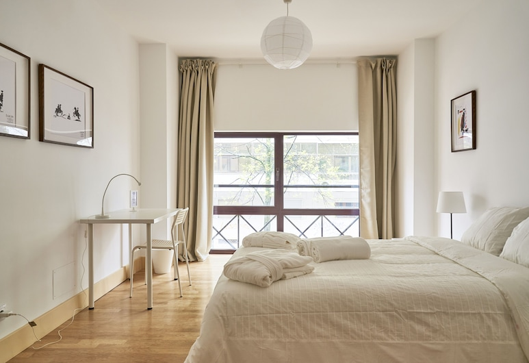 Campo Pequeno Avenida, Lissabon, Superior - kahden hengen huone, Jaettu kylpyhuone, Vierashuone