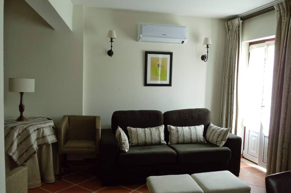 Standarta dzīvokļnumurs, divas guļamistabas - Dzīvojamā istaba