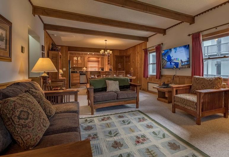 2 Br: Whistlepunk 28, Snowshoe, Casa, Varias camas (2 Br: Whistlepunk 28), Sala de estar