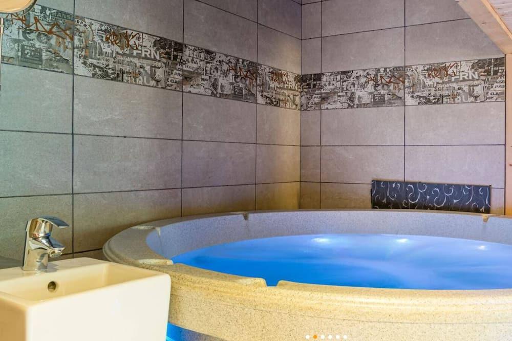 家庭小木屋, 私人浴室 - 浴室
