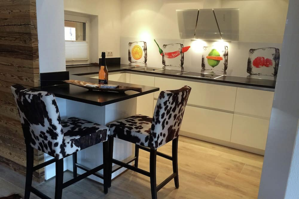 Apartament - Prywatna kuchnia