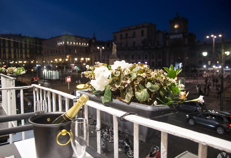 那不勒斯城市之鑰酒店, 那不勒斯, 豪華客房, 城市景 (FINESTRELLA DI MARECHIARO), 露台