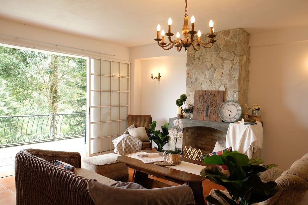 Comfort-Villa, 5Schlafzimmer - Wohnzimmer