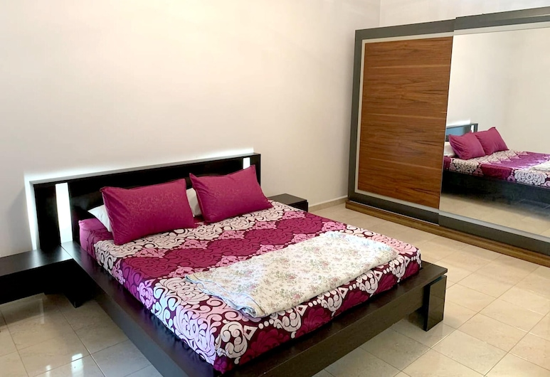 Apartment With 2 Bedrooms in Cheraga, With Shared Pool, Terrace and Wifi, Alger, Appartement, Chambre