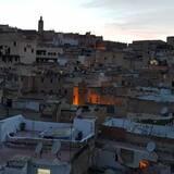 Pogled iz objekta na grad