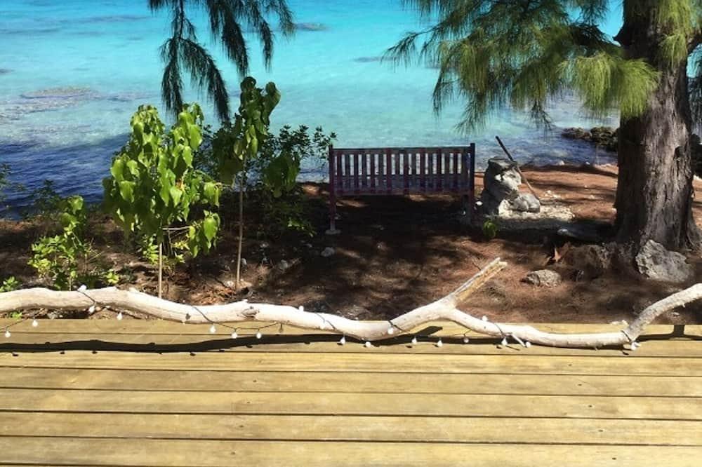 Casa familiar, 3 habitaciones, 2 baños - Vista a la playa o el mar