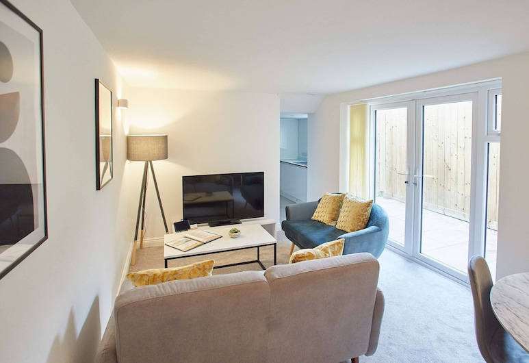 Leap Apartments, Saltburn-by-the-Sea, Luxe appartement, Woonruimte
