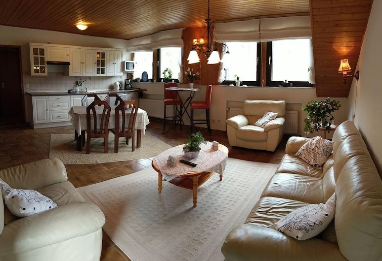Familiehuis Dolve, Muerlenbach, Căn hộ (Upstairs Apartment), Khu phòng khách