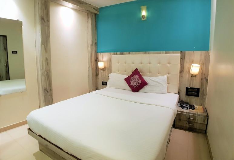 Hexa Atlas, Bombay, Standard Tek Büyük Yataklı Oda, Oda