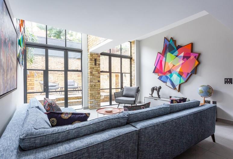 聖魯克街 V 號 - 閱居酒店, 倫敦, 公寓 (3 Bedrooms), 客廳