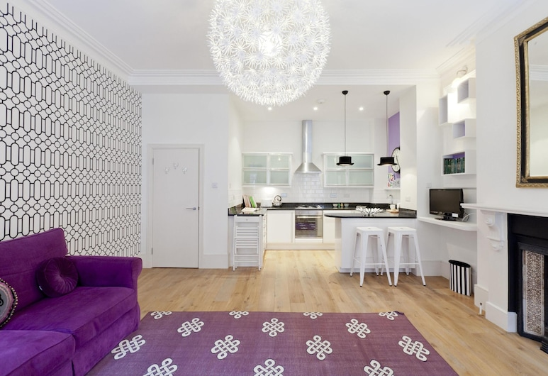 James Street by Onefinestay, London, Apartment (2 Bedrooms), Wohnbereich