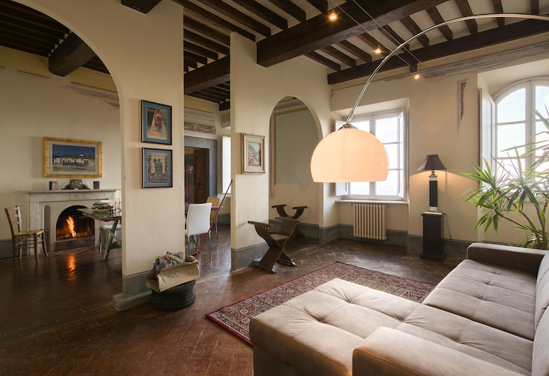 Appartamento Alfieri, Cortona, Apartamentai, Svetainės zona