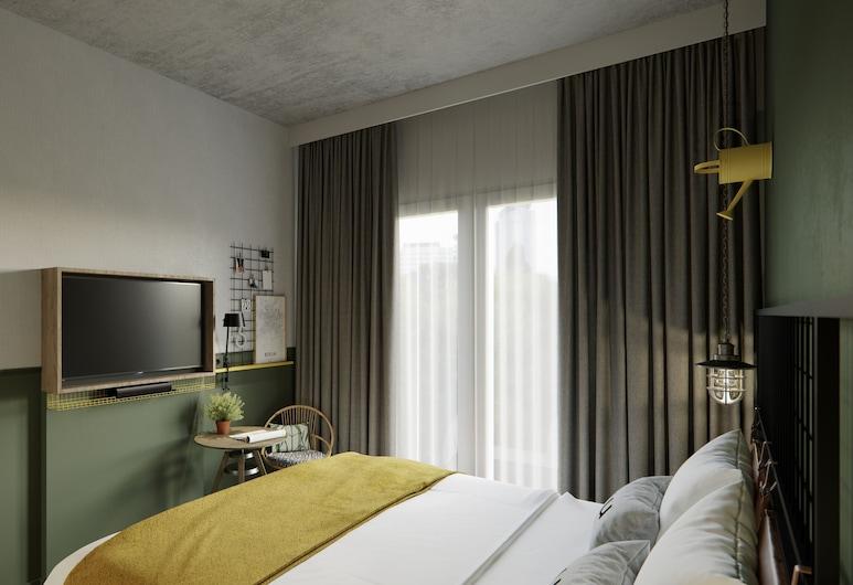 the niu Dwarf, Berlín, Štandardná dvojlôžková izba, Hosťovská izba