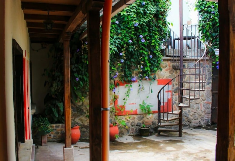 Bed and Breakfast, Antigua Guatemala, Terasz/udvar