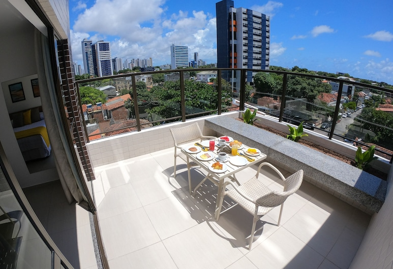 Hotel Villa d'Oro, Recife, Apartamento Standard Com Varanda, Living Area