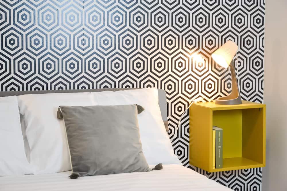 غرفة بتصميم مميز - بشرفة - منظر للحديقة (Porta Venezia) - غرفة نزلاء