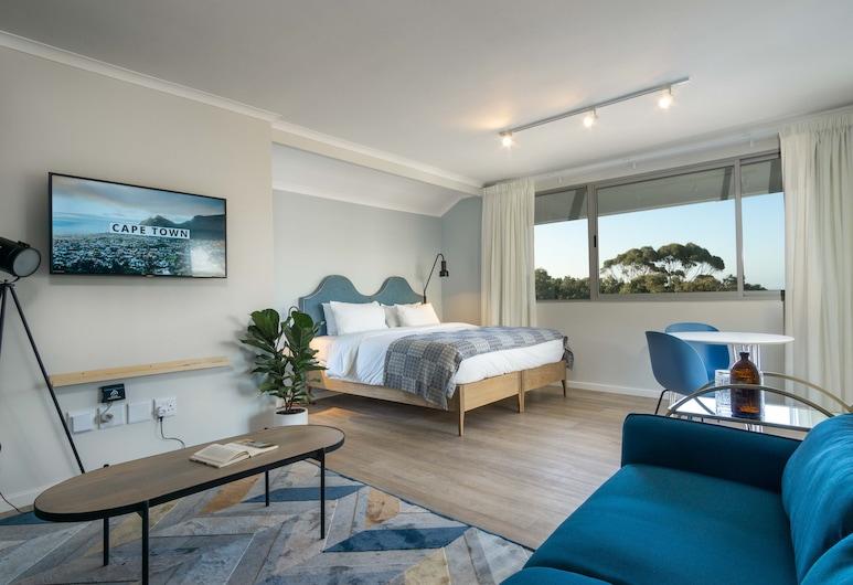 Curiocity Cape Town - Hostel, Ciudad de El Cabo, Suite estudio Premium, Habitación