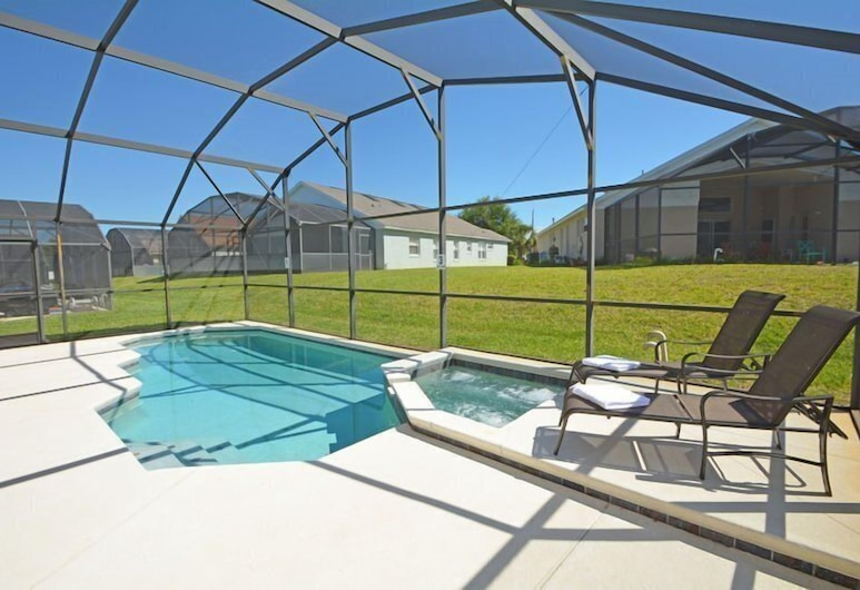 Stunning 5 Bed Pool Home In Indian Creek Kissimmee FL, Kissimmee, Huis, Zwembad