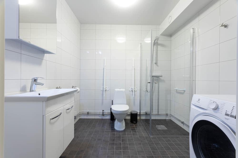 Studio Apartment Basement - バスルーム