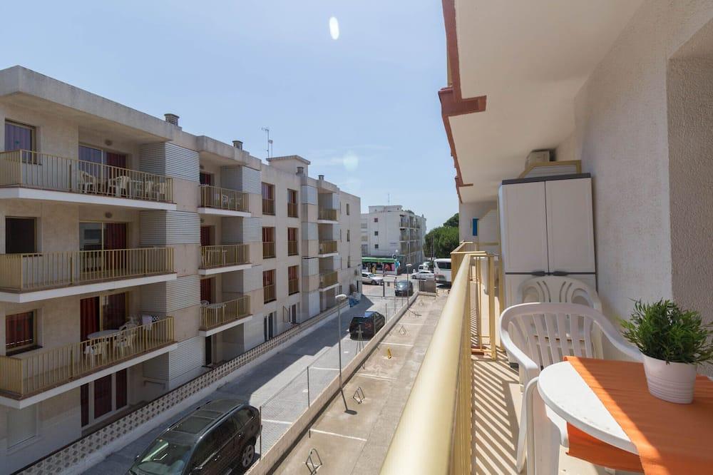 Апартаменты, 1 спальня, балкон - Балкон