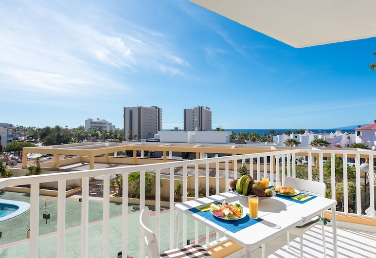 Y1DB. Luxurious studio in 'Playa de Las Americas', Arona, Studija, terasa, Terasa / vidinis kiemas