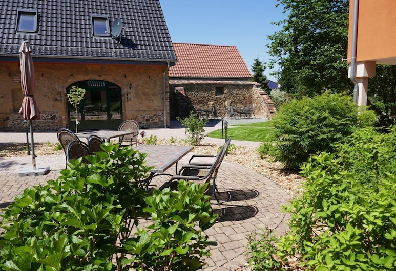 Ferienhof Radlerslust, Senftenberg, Courtyard